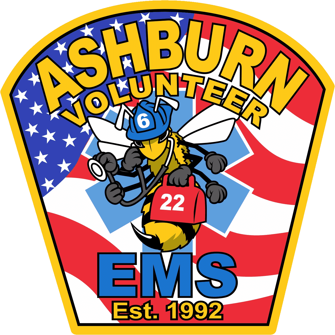 Ashburn Fire Rescue EMS Patch 2016